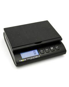 Bilancia Postale T-Mech Digitale Nera 38kg con 4 Modalità di Peso