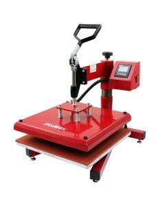 Prensa Térmica Oscilante PixMax 38x38cm para Sublimación