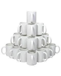72 Tazze PixMax in Ceramica Bianca per Sublimazione con Scatole