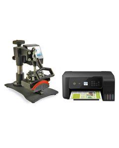 PixMax Presse à Chaud pour Casquettes & Imprimante