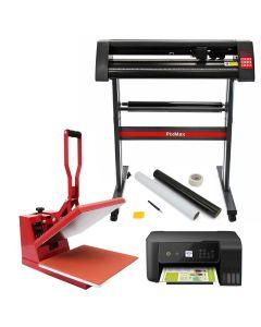 PixMax 38cm Hitte Pers,Vinyl Plotter, Printer, Starterbundel