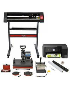 Pixmax 5 in 1 Hitte pers, vinyl snijder, printer en startergereedsschapset
