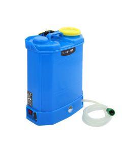Lavavetri Zaino MAXBLAST in Plastica per Trasporto Acqua 16 Litri con Batteria
