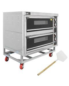 KuKoo Grote Professionele Pizza Oven met Pizzaschep