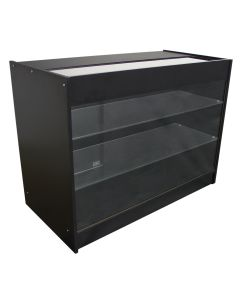 K1200 Verkaufstheke Ladentheke - Schwarz