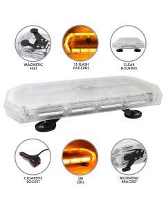 LED Zwaailicht Balk Oranje 600mm
