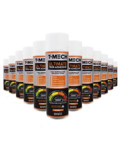 T-Mech 12 x 500ml Spray Adhésif Colle