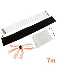 Maxblast elektrische schoorsteen borstel - 7 meter