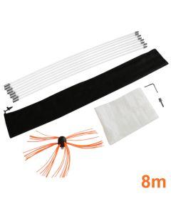 Maxblast elektrische schoorsteen borstel - 8 meter