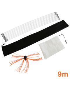 Maxblast elektrische schoorsteen borstel - 9 meter