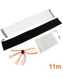 Maxblast elektrische schoorsteen borstel - 11 meter