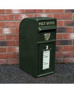 Royal Mail Buzón de Correos Verde Pilar de Hierro Fundido Buzón de Correos para Cartas Montaje para Pared Postal