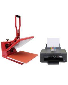 38cm Transferpresse & Epson Drucker