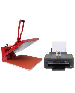 50cm Transferpresse & Epson Drucker