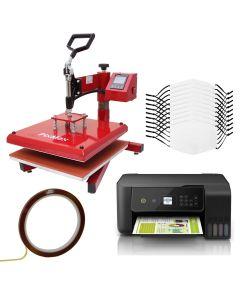 Bundel: 10 Sublimatie Mondkapjes - Swing Hittepers - Printer eco tank