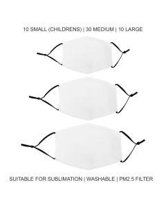 Mascherine per Sublimazione - Miste - 50 Pezzi