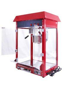 Macchina per Popcorn KuKoo Rossa 230g in Acciao Inox