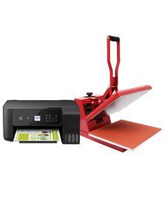 PixMax Transferpresse 38cm und Epson Drucker im Set