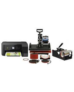 PixMax Presse à Chaud 5en1 avec Imprimante