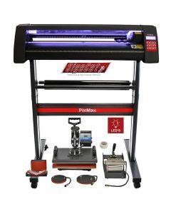Plotter per Taglio Vinile - LED - 720 & Pressa a Caldo 5 in 1