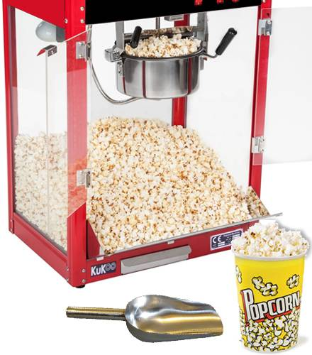 KuKoo Commercial Popcorn Machine