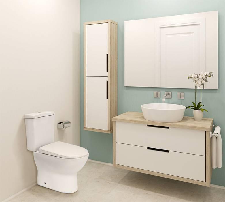 Modern Dual Flush Toilet Cistern