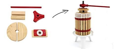 manual fruit pressing machine