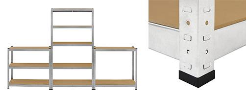 Galwix Galvanised Shelving