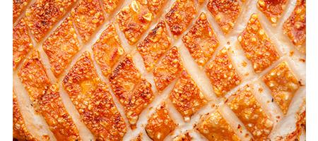 Roast Pork Rotisserie Crackling
